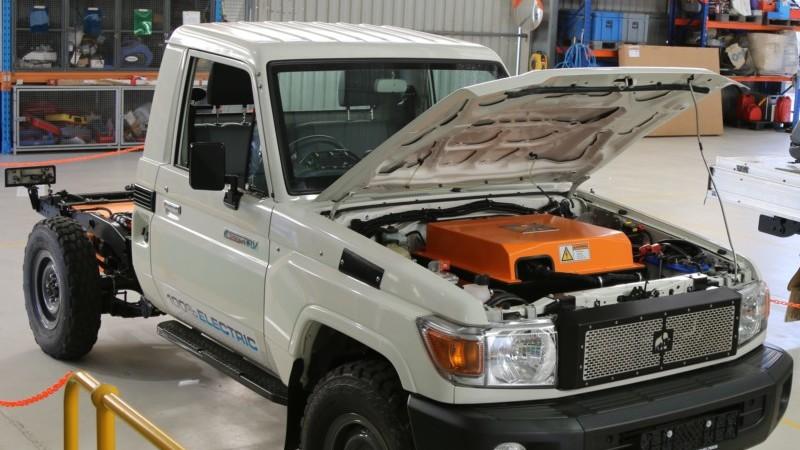 Tembo e-LV for mining